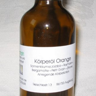 massageöl orange